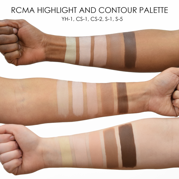 alt RCMA Highlight and Contour Palette