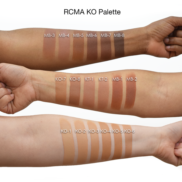 RCMA VK Foundation Palette -  | Camera Ready Cosmetics - 3
