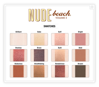 The Balm Cosmetics Nude Beach Palette