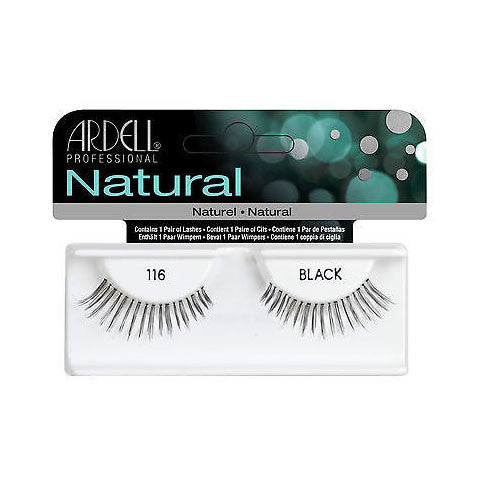 Ardell Natural 116 - Black (65090)  | Camera Ready Cosmetics