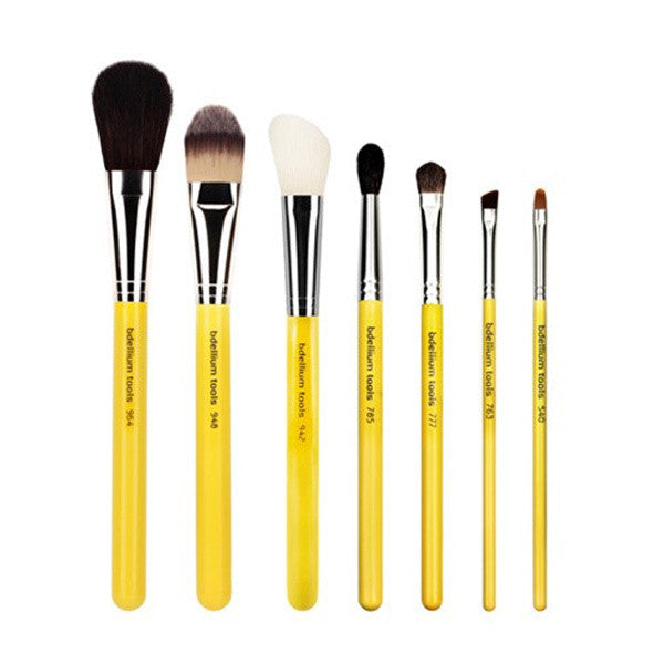 Bdellium Tools Studio Line Brushes for Eyes and Face - Basic 7pc. Set -  | Camera Ready Cosmetics