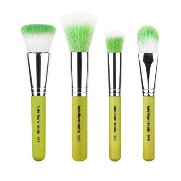 Bdellium Tools Green Bambu Foundation 4pc. Set -  | Camera Ready Cosmetics