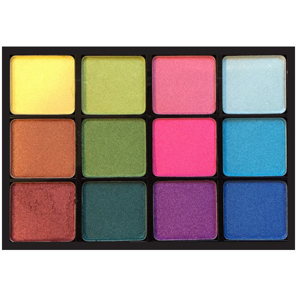 Viseart 12-Color Eyeshadow Palette - VPE02 Ribbons Boheme -  | Camera Ready Cosmetics
