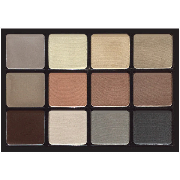 Viseart 12-Color Brow and Eyeshadow Palette -  | Camera Ready Cosmetics