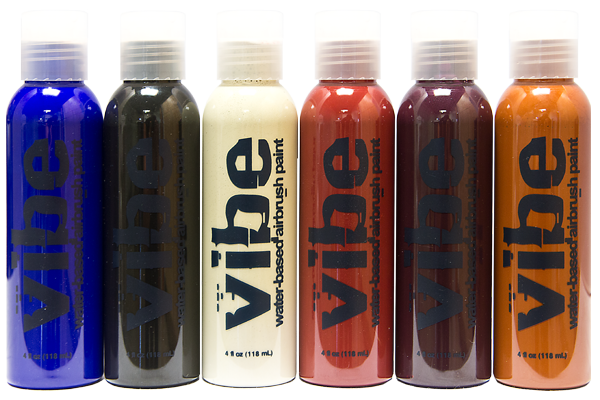 alt European Body Art Voda Airbrush 6-Packs 1oz. Zombie