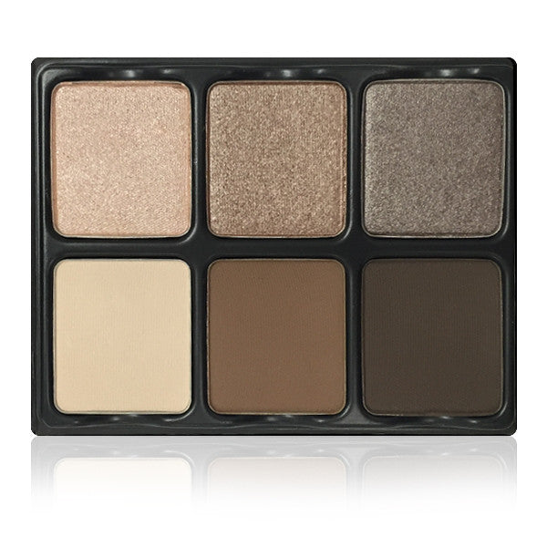 Viseart 6-Color Eyeshadow Palette - Theory Palette I Cashmere -  | Camera Ready Cosmetics - 1