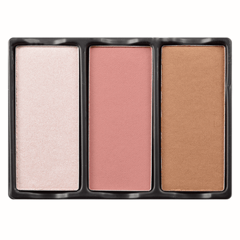 Viseart Theory Highlighter, Blush, & Bronzer