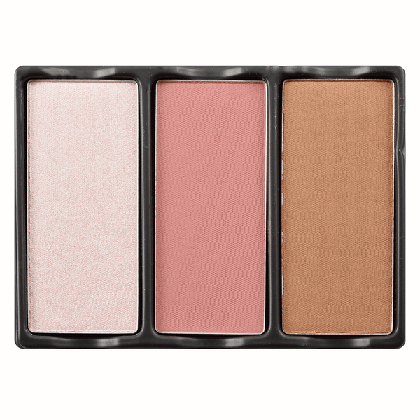 alt Viseart Theory Highlighter, Blush, & Bronzer 01 Enamored (Limited Availability)