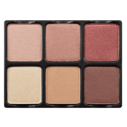 alt Viseart 6-Color Eyeshadow Palette - Theory Palette 05 Nuance