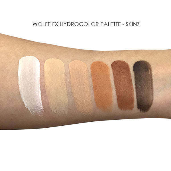 Wolfe FX Hydrocolor Palette -  | Camera Ready Cosmetics - 9