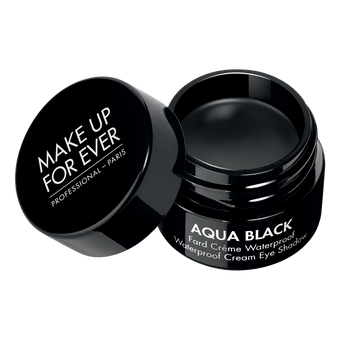 alt Make Up For Ever Aqua Black Waterproof Creme Eyeshadow