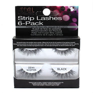 Ardell Professional Strip Lashes 6 Pack Demi Wispies - Black (60066) -