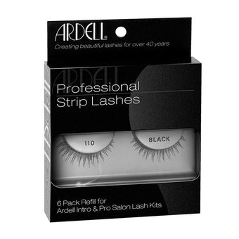 alt Ardell Professional Strip Lashes 6 Pack #110 Black (60070)