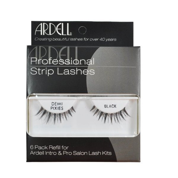 Ardell Professional Strip Lashes 6 Pack Demi Pixies - Black (60067) -  | Camera Ready Cosmetics