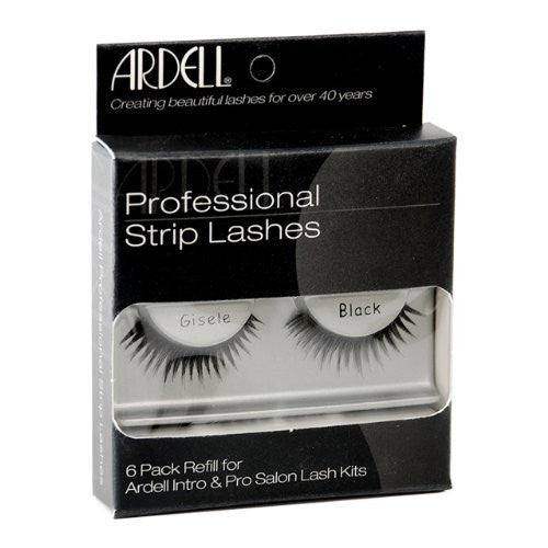 Ardell Professional Strip Lashes 6 Pack - Runway Gisele Black (60071) -  | Camera Ready Cosmetics