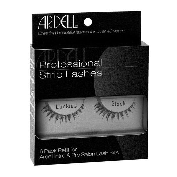 Ardell Professional Strip Lashes 6 Pack Luckies Black (60065) -  | Camera Ready Cosmetics