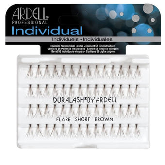 alt Ardell Individual Lashes Knotted Flare - Short Brown (65096)