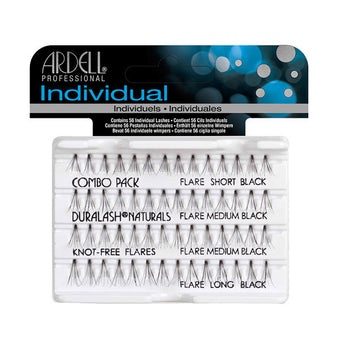 Ardell Individual Knot-Free Flare Lashes - Combo Black (65063) -  | Camera Ready Cosmetics