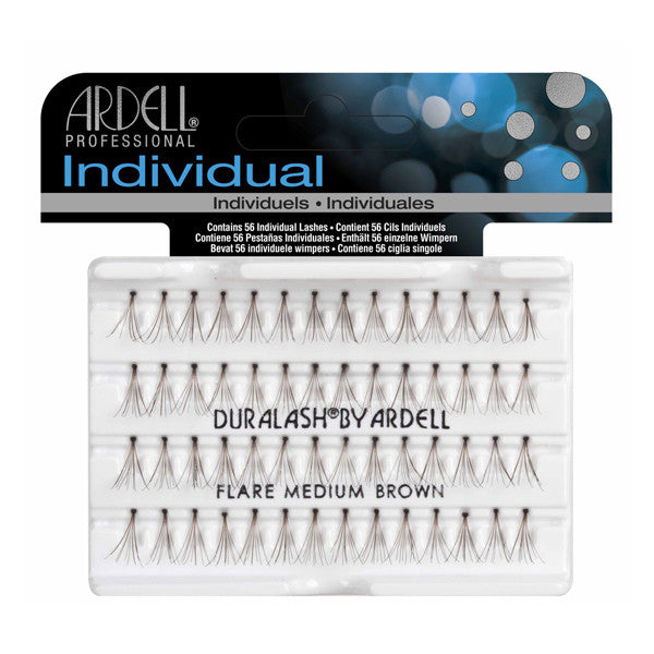 Ardell Individual Lashes Knotted Flare - Medium Brown (30220) -  | Camera Ready Cosmetics