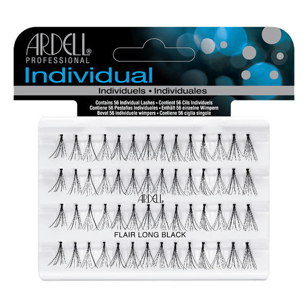 Ardell Individual Lashes Knotted Flare - Long Black (30310) -  | Camera Ready Cosmetics