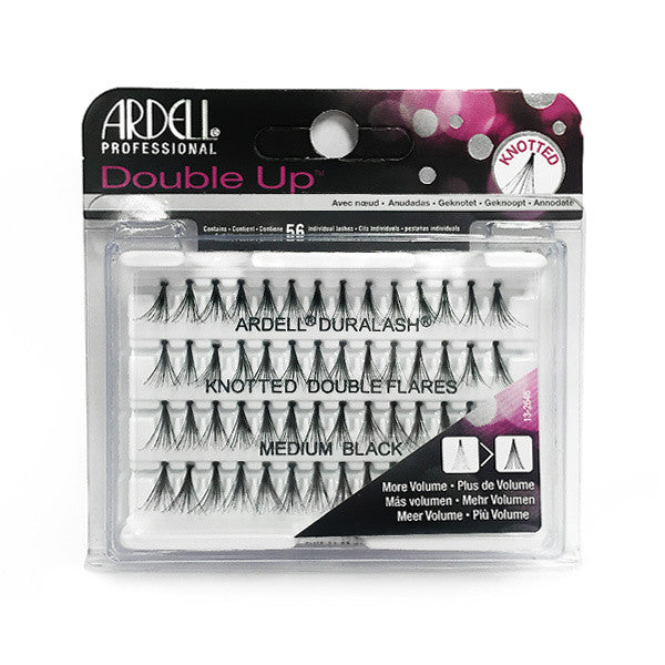 Ardell Individual Lashes Knotted Flare - Double Medium Black (68291) (OOS- Not received with last order) -  | Camera Ready Cosmetics