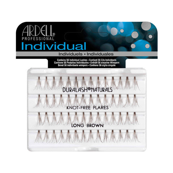 Ardell Individual Knot-Free Flare Lashes - Long Brown (65055) -  | Camera Ready Cosmetics