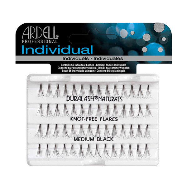 Ardell Individual Knot-Free Flare Lashes - Medium Black (65052) -  | Camera Ready Cosmetics