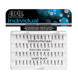 Ardell Individual Knot-Free Flare Lashes - Short Black (65050) -  | Camera Ready Cosmetics