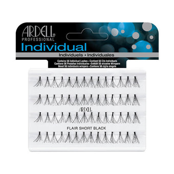 Ardell Individual Lashes Knotted Flare - Short Black (30110) -  | Camera Ready Cosmetics