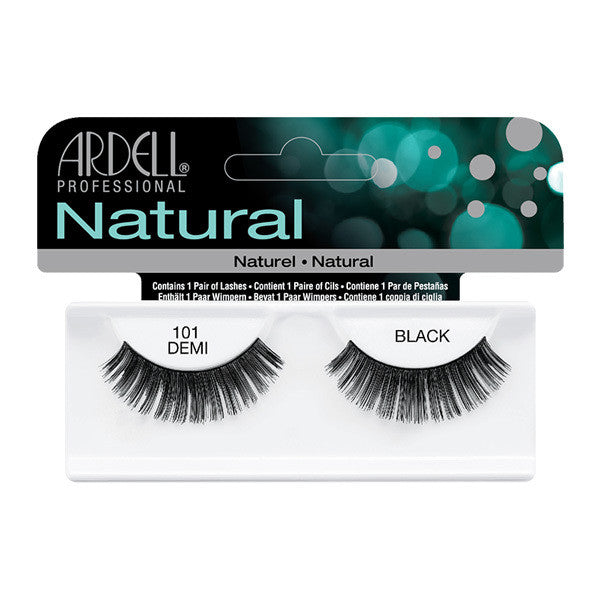 Ardell Natural 101 - Black (65001) -  | Camera Ready Cosmetics