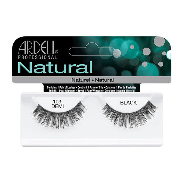 Ardell Natural 103 - Black (65084) -  | Camera Ready Cosmetics