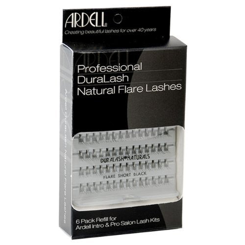 Ardell Individual Lashes Naturals Short Black - 6 Pack (60079) -  | Camera Ready Cosmetics