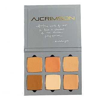 alt AJ Crimson Beauty 6 Shade Book - Correct & Conceal