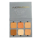 AJ Crimson Beauty 6 Shade Book - Correct & Conceal  | Camera Ready Cosmetics