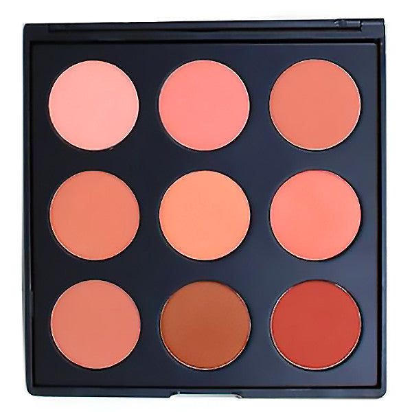 ALT - Morphe - 9N The Naturally Blushed Palette - Camera Ready Cosmetics