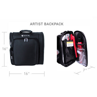ZUCA ARTIST BACKPACK (USA ONLY)  | Camera Ready Cosmetics