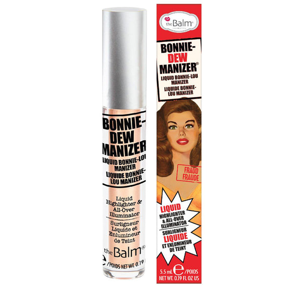 alt The Balm Manizers Liquid Highlighters Bonnie-Dew Manizer (Limited Availability)