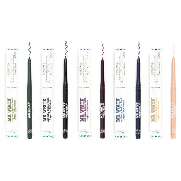 alt The Balm Cosmetics Mr. Write Eye Liners