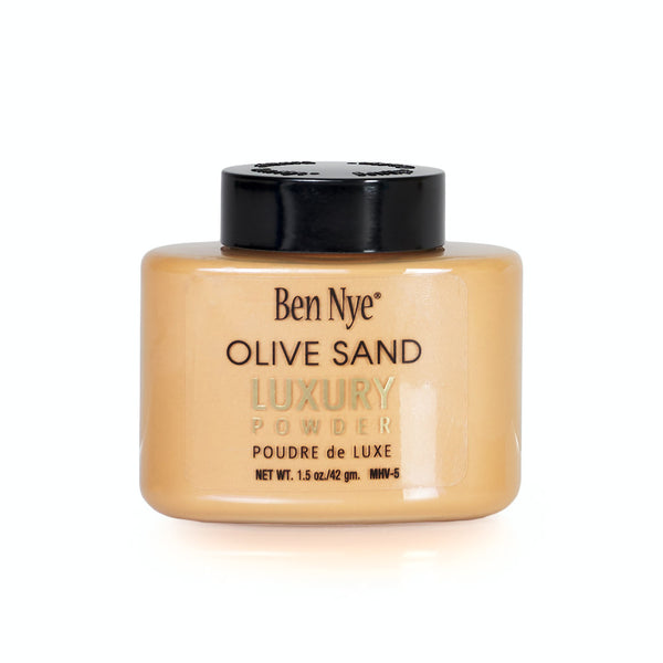 alt Ben Nye Olive Sand Mojave Luxury Powder 1.5oz SMALL Shaker