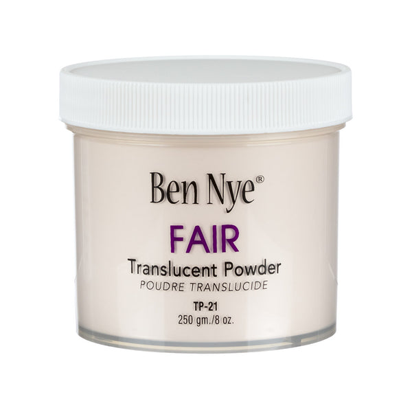 alt Ben Nye Fair Classic Translucent Face Powder 8oz. (TP-21)