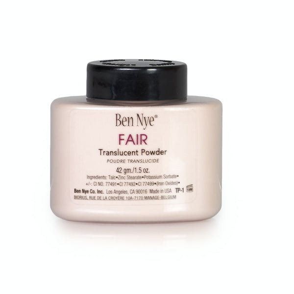 alt Ben Nye Fair Classic Translucent Face Powder 1.5 oz (TP-1)