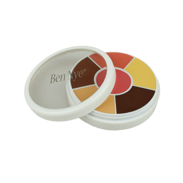 alt Ben Nye Creme Contour & Blush Wheels CBW-5 Brown