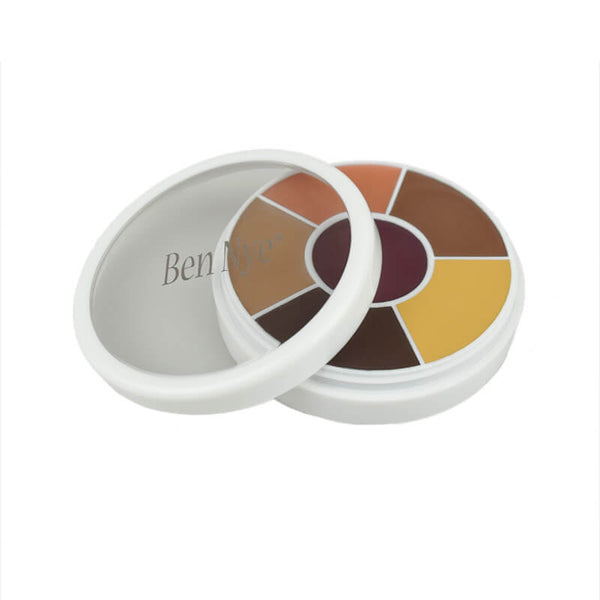 alt Ben Nye Creme Contour & Blush Wheels CBW-7 Dark Brown