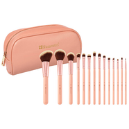 BH Cosmetics | BH Chic - 14 Piece Brush Set with Cosmetic Case