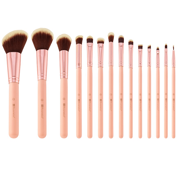 b5d744691dc0 BH Cosmetics | BH Chic - 14 Piece Brush Set with Cosmetic Case