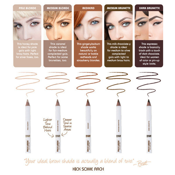 Brett Brow Duo-Shade Brow Pencil -  | Camera Ready Cosmetics - 5