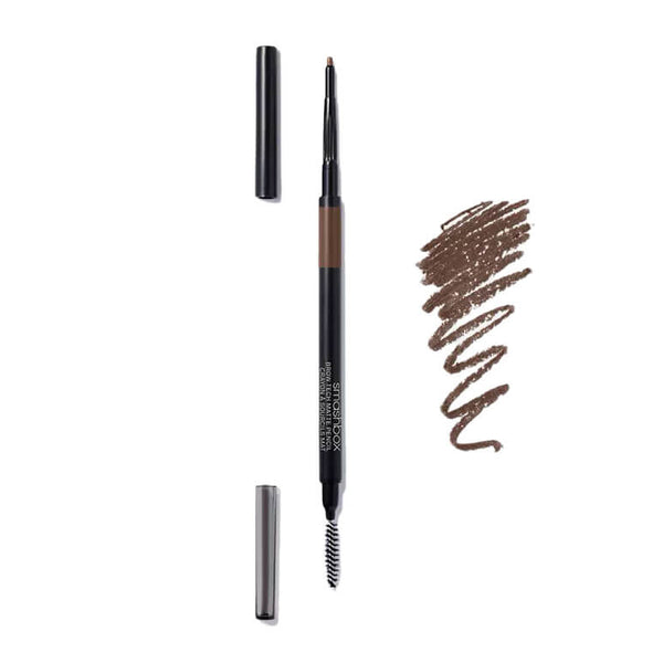alt Smashbox Brow Tech Matte Pencil Brunette