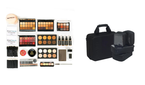 alt Professional Makeup Kit w/ Esum Makeup Kit Bag