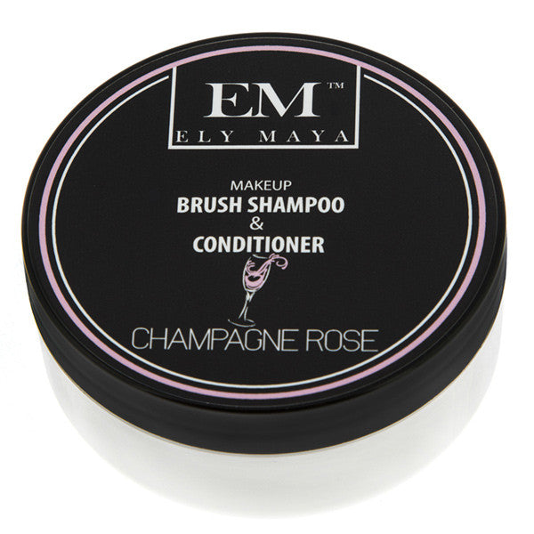 Ely Maya Brush Shampoo and Conditioner - Champagne Rose  | Camera Ready Cosmetics