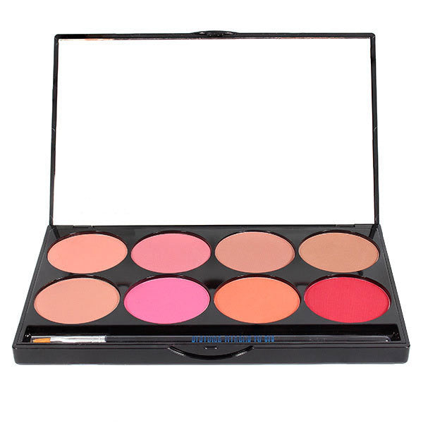 Mehron Cheek Powder 8-Color Blush Palette -  | Camera Ready Cosmetics